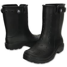 Calzado de mujer botas de agua Crocs de sintético