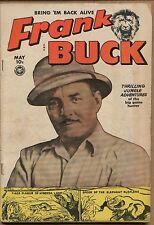 1950 Frank Buck #7 ~Wallywood Art~ (Grade 4.0) WH