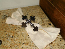 Iron Cross Napkin Ring with Bling, Tableware, Kitchen and Dining, Napkin Rings