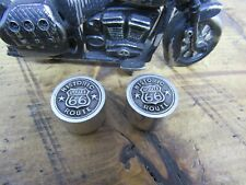 Route 66 Guitar knobs with aluminum sides.