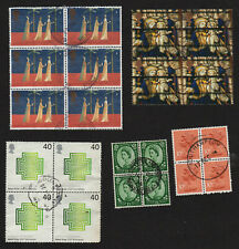 used blocks of Great Britain (#B4)