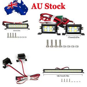 Double Row Roof Lamp Set Spotlight for SCX10 D90 TRX4 1:10 RC Climbing Car #AU