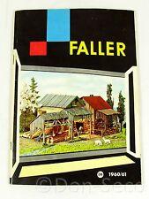 Faller Katalog 1960/61