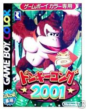 DONKY KONG 2001 Nintendo Game Boy GB color Import Japan  DONKEY