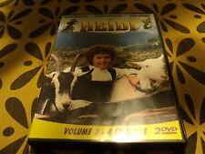 """COFFRET 2 DVD """"HEIDI - VOLUME 3"""" Katia POLLETIN / 4 episodes"""