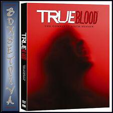 TRUE BLOOD - COMPLETE SERIES SEASON 6  **BRAND NEW DVD**