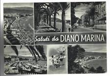 VECCHIA CARTOLINA DI SALUTI DA DIANO MARINA