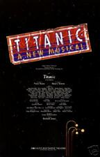 TITANIC THE MUSICAL POSTER