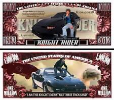 K2000 - Billet 1 Million Dollar US! Collection Knight Rider Series TV 80 Kitt