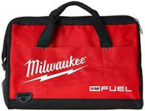 "Milwaukee 50-55-3560 Soft Side Contractor Bag, 16"" x 9.5"" x 11"""