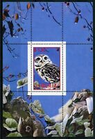 Liberia MNH Owls Little Owl 1v M/S Birds Stamps