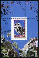 Liberia MNH Owls Little Owl 1v M/S Birds Stamps