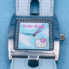 Sanrio Hello Kitty Watch 2003 HK295 Light Blue Band Works