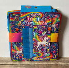 Lisa Frank 6 Shelf Hanging Organizer Storage Rainbow Pegasus Horse Stars New