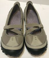 Privo By Clarks Womens Size 7 Tan Mary Jane Slip on Shoes Adjustable