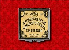 OUIJA BOARD PLANCHETTE PSYCHIC HAND MAKEUP POCKET COMPACT MIRROR