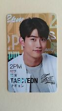 2PM Lotte Star Avenue Official Photocard Photo Wish Card  Taecyeon / Rare (Ver.A