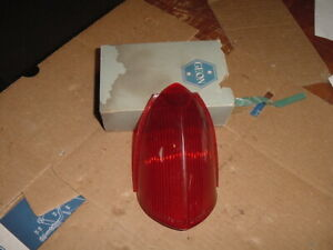 1 New Geon Tail Light Upper Lens MG Midget Austin Healey Sprite MGB MGC