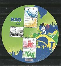Belgium 2016 - Olympic games Rio 2016 souvenir sheet mnh