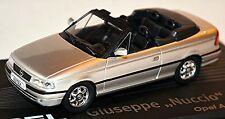 Opel Astra F Cabriolet 1992-98 Designer Serie G. Bertone silber metallic 1:43