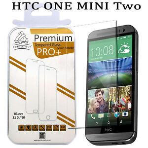 100% Genuine Gorilla Tempered Glass Film Screen Protector Guard HTC One Mini 2