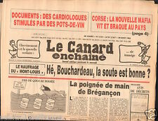 CANARD ENCHAINÉ Birthday Newspaper JOURNAL NAISSANCE 29 AOUT AUGUST  1984