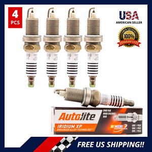 Set of 4 IRIDIUM SPARK PLUGS For JEEP WRANGLER CHEROKEE DODGE RAM VIPER XP985