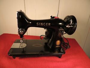 Singer Sewing Machine, Model 99k-31, 1958, Cleaned, Oiled, Tested, Very Nice