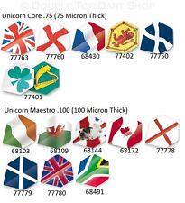 Unicorn Country Flag Dart Flights - Standard Shape - Full Range