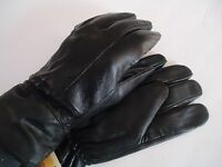 Men's Metropolitan Thinsulate Genuine Leather Driving Gloves, Black, L/XL, Swany