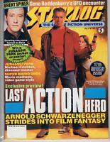 Starlog  Science Fiction July 1993 Gene Roddenberry Brent Spiner Schwarzenegger
