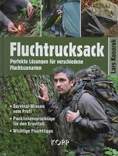 FLUCHTRUCKSACK - Survival Ratgeber mit Lars Konarek BUCH - NEU