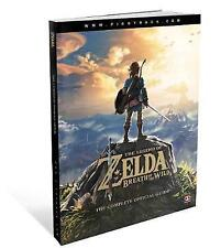 NEW The Legend of Zelda: Breath of the Wild: The Complete Official Guide