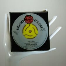 Richie Havens - Music Drink Coaster Made with The Original 45 rpm Record