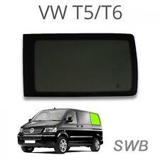 Cuarto Trasero Izquierdo Ventana (privacidad) para VW T5/T6 SWB Glass Windows para camperva