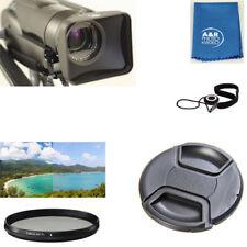 58mm Pro Video Lens Hood Filter Cap For Canon XA15 XA11 HC10 XF705 XF405 XF400