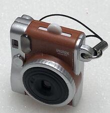Fujifilm Instax mini 90 miniature blue keychain toy camera like new