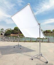 2.4x2.4m 8'x8' 8x8 Butterfly Detachable Frame +White Silk+Bag+2pcs*Roller Stands