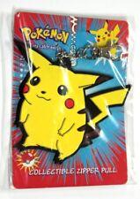 Pokémon PIKACHU Portachiavi Ufficiale Keychain Zipper Pull Official NINTENDO