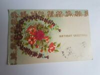 Greeting Postcard Vintage Birthday #77