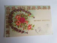 Greeting Postcard Vintage Birthday #77