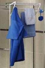 Porte-manteaux Portemanteau étagère de salle bain sans perçage murale Douche