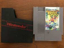 THE ADVENTURES OF BAYOU BILLY NES GAME INCLUDES DUST COVER