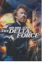 The DELTA FORCE (1986) SEALED - Movie - US Delta Force in the Middle-East