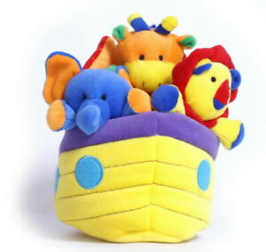 LEGLER SOFT TOY EDUCATIONAL BEETLE CAR Or NOAH'S ARK + ANIMALS WITH NOISES BABY