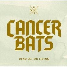 """CANCER BATS """"DEAD SET ON LIVING (CD & DVD)"""" CD + DVD NEUWARE"""
