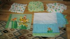 FISHER PRICE RAINFOREST PEACEFUL PRECIOUS PLANET CRIB TODDLER BEDDING SHEETS
