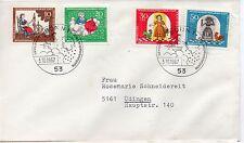 Alemania Fe4deral Cuentos de Grimm sobre primer día año 1967 (DG-89)