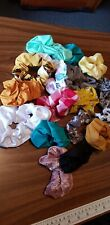 50 mixed lot Handmade Scrunchies