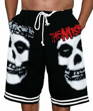 Misfits Shorts T-Shirt Print Heavy Metal